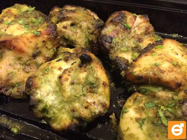 butter chicken naan